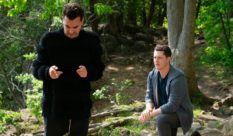 Patrick proposes to David on Canadian TV show Schitt's Creek.