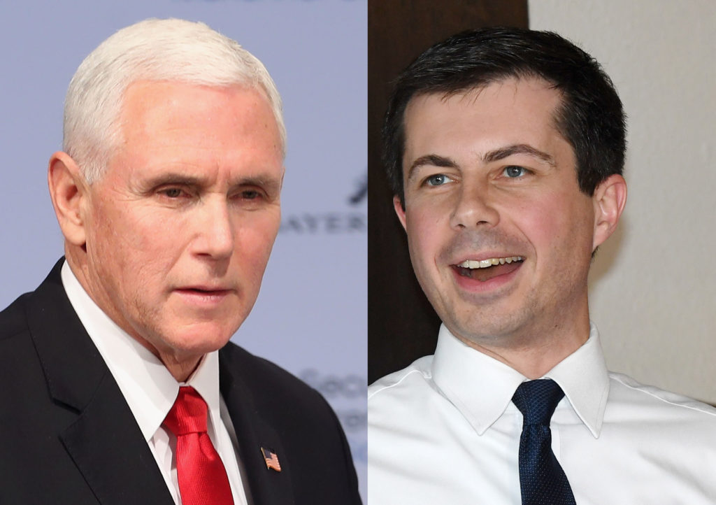 "Second Lady Karen Pence has claimed her husband, Vice President Mike Pence and presidential hopeful Pete Buttigieg have a ""great relationship."""