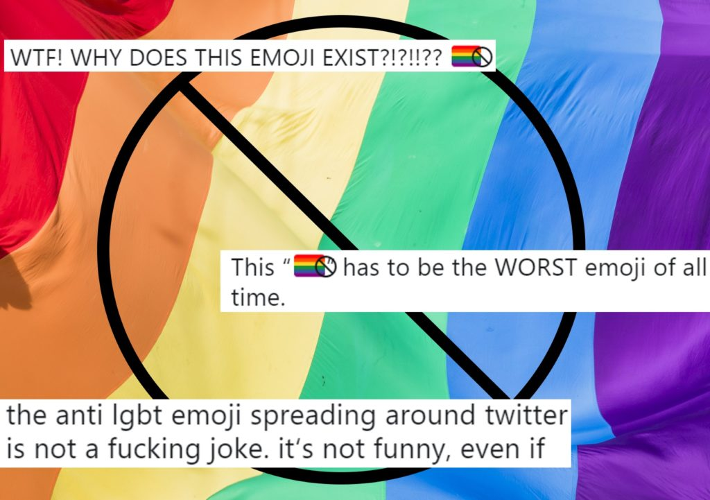People are mad at Apple about this new anti-LGBT emoji