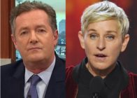 Piers Morgan criticised Ellen DeGeneres for calling on Kevin Hart to be allowed to host the Oscars
