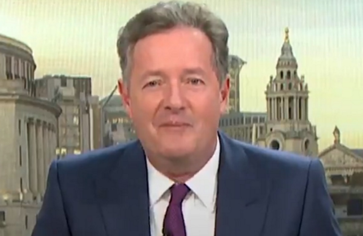 Piers Morgan on ITV's Good Morning Britain.