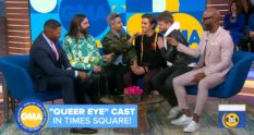 The Fab Five appeared on Good Morning America to promote Queer Eye season 3.