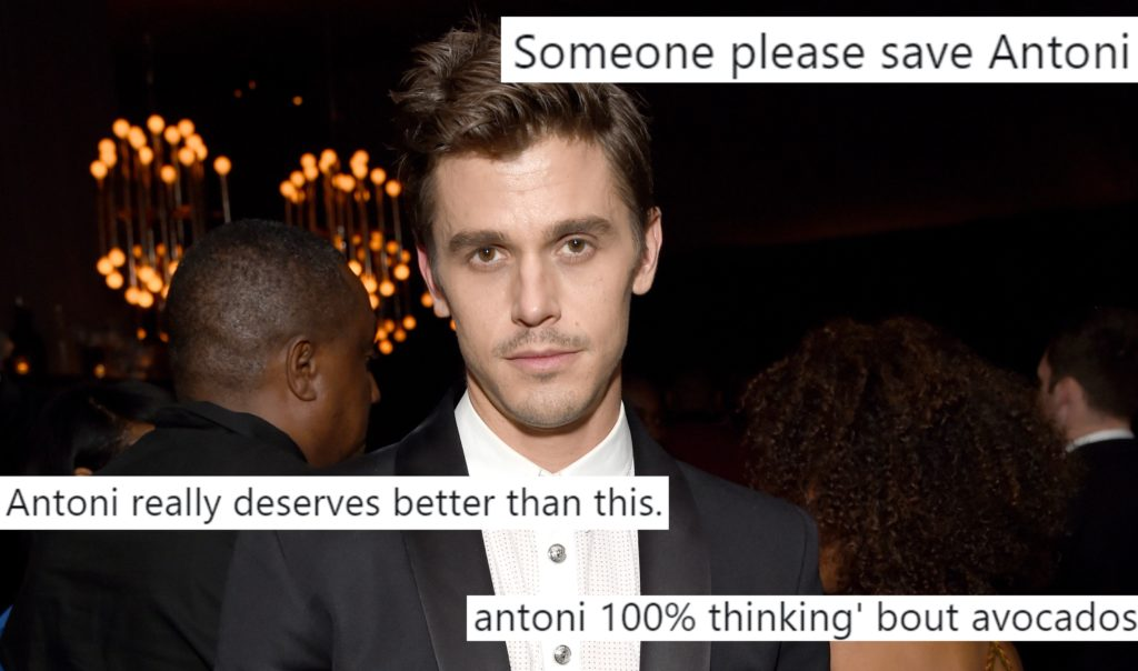 Queer Eye memes, gay meme: Antoni Porowski attends the 2018 Netflix Primetime Emmys After Party at NeueHouse Hollywood on September 17, 2018 in Los Angeles, California.
