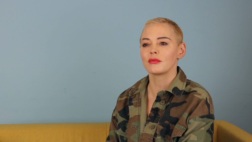 Rose McGowan, who has said sorry for comments she previously made about the trans community (PinkNews)