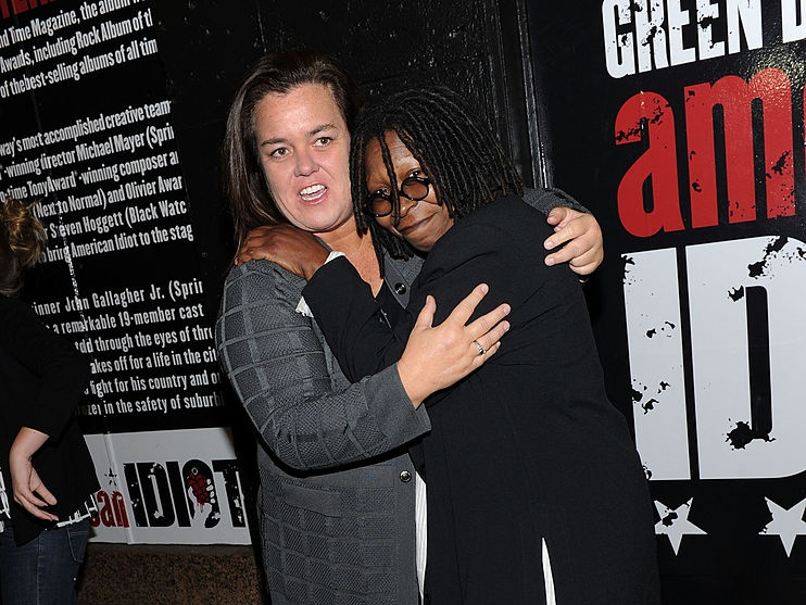 Rosie O'Donnell says Whoopi Goldberg was 'mean' to her on The View