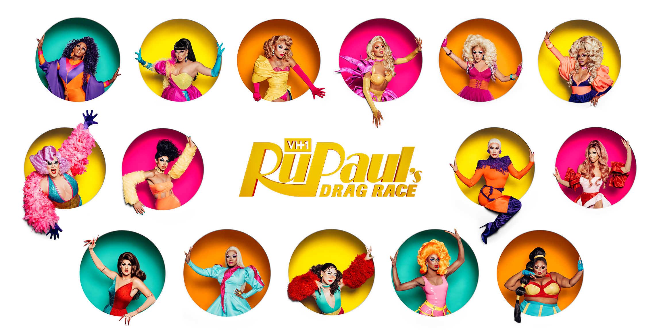 The 15 contestants on VH1 show RuPaul's Drag Race season 11
