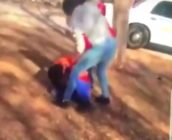 A lesbian student is attacked after months of bullying