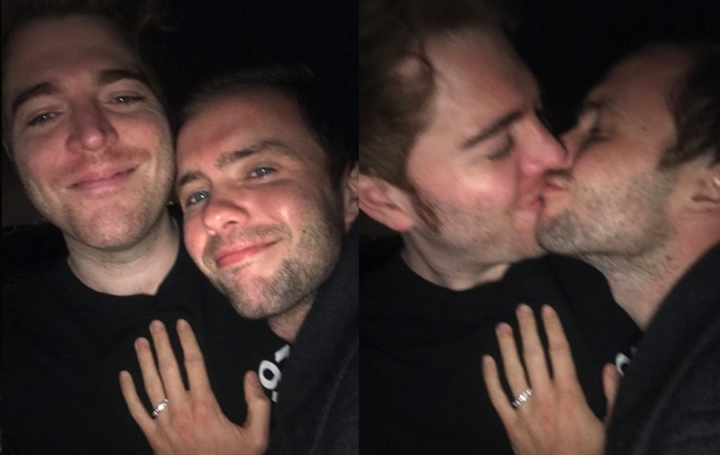 Shane Dawson proposed to Ryland Adams.