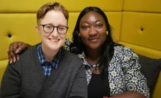 Stonewall's Ruth Hunt and UK Black Pride's Lady Phyll.