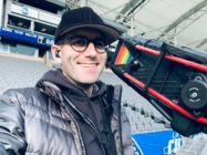 An Instagram photo of Super Bowl cameraman Scott Winer