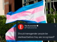The Economist under fire for asking if transgender people should be sterilised