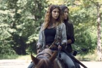 Lesbian couple Magna and Yumiko on AMC's The Walking Dead