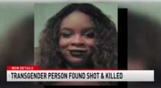 A trans woman, who was murdered on the eve of Transgender Day of Visibility