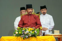 The Sultan of Brunei, who introduced death by stoning for gay people earlier this month