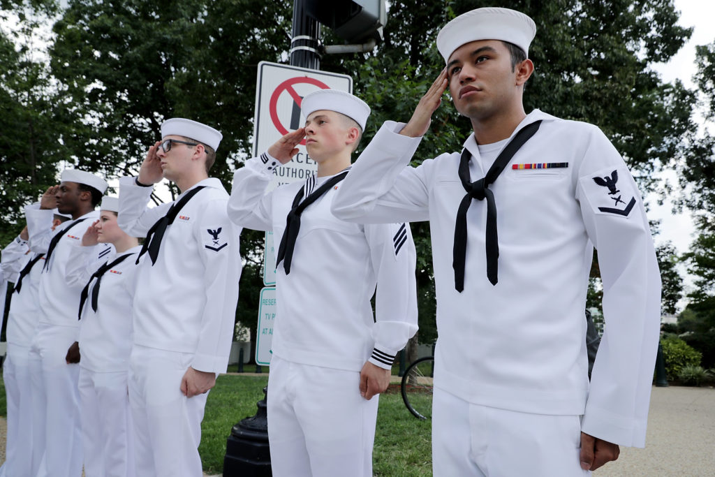 US Navy trans military ban