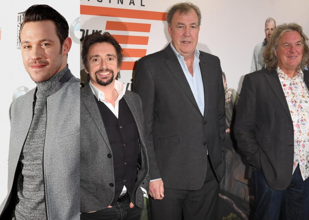 Will Young and the hosts of Amazon series The Grand Tour
