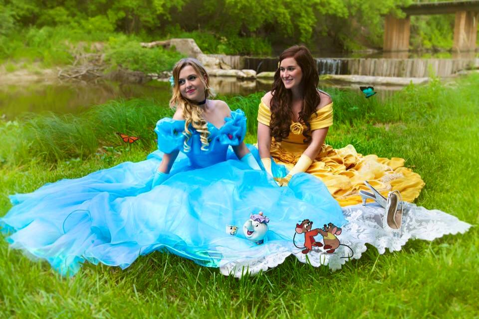 Cinderella Marries Belle In Real Life Fairytale This Couple Had A