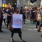 Signs at Manchester Pride