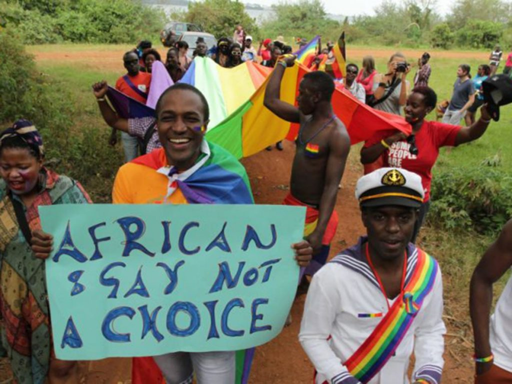 African protest
