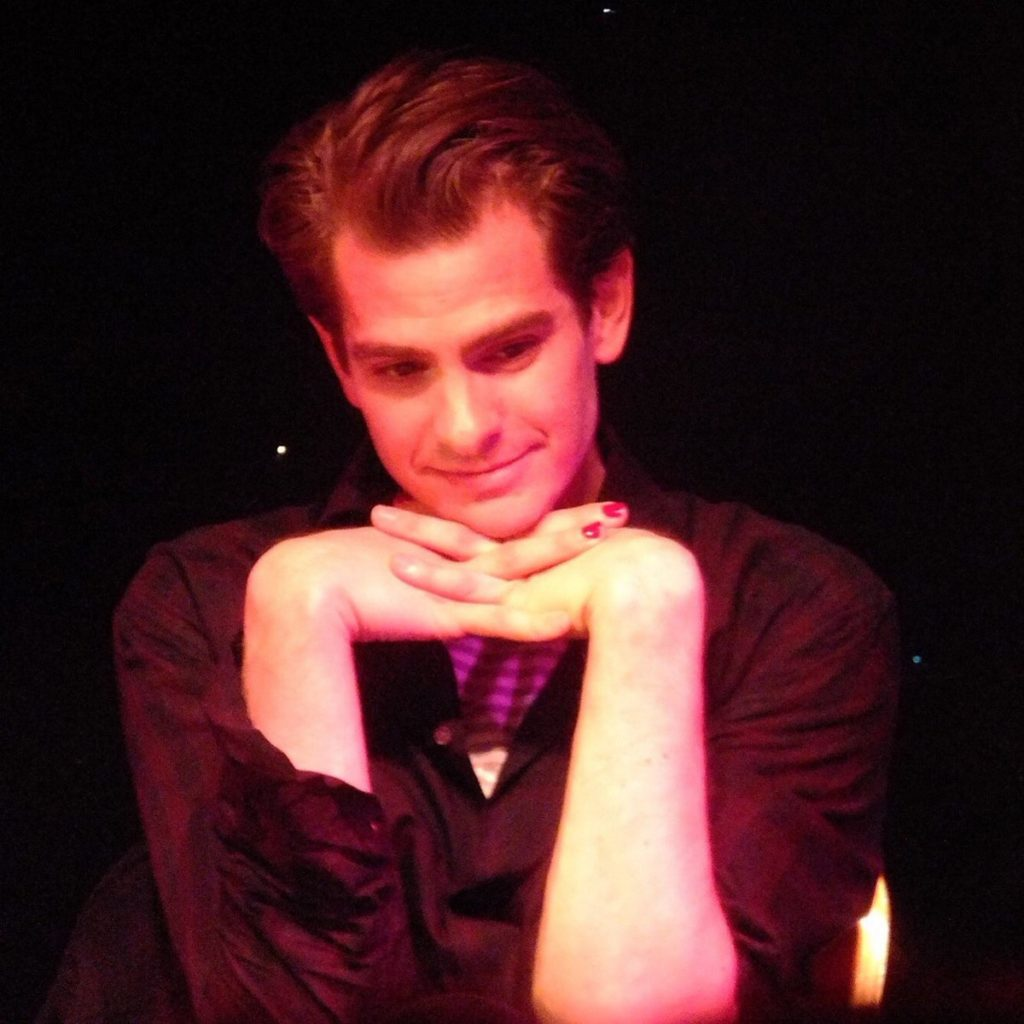 Andrew Garfield whitney houston tribute