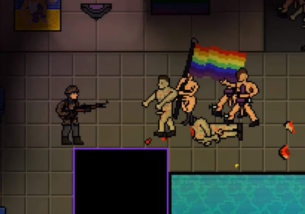 Far-right video game 'Angry Goy II' allows players to murder LGBT people.