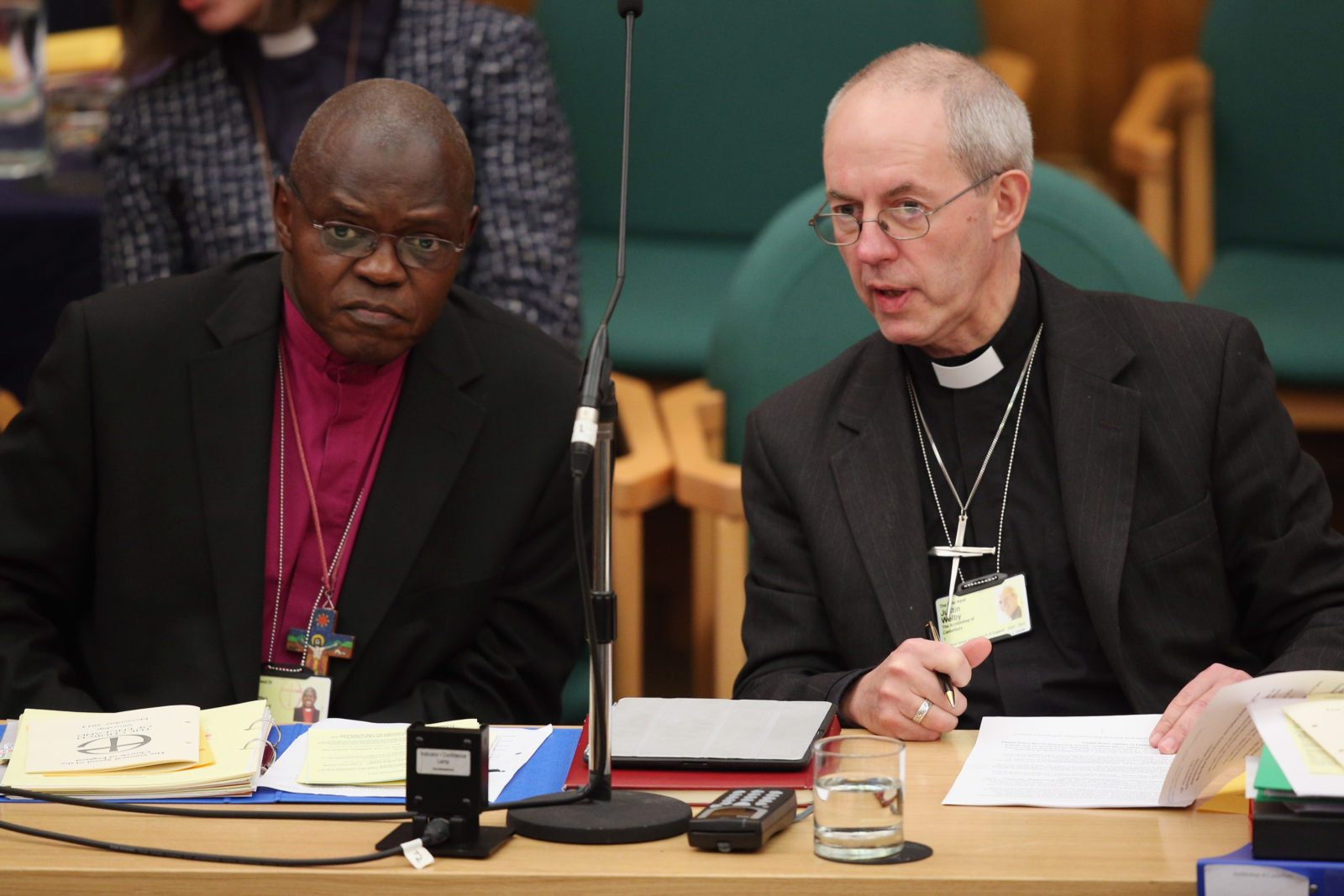 The Archbishops of York and Canterbury (Oli Scarff/Getty Images)