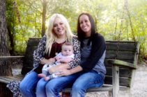 LGBT+ science made it possible for these two married women to be pregnant with the same baby.