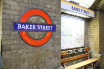 Baker Street station, where a man has been spared jail for shouting homophobic abuse