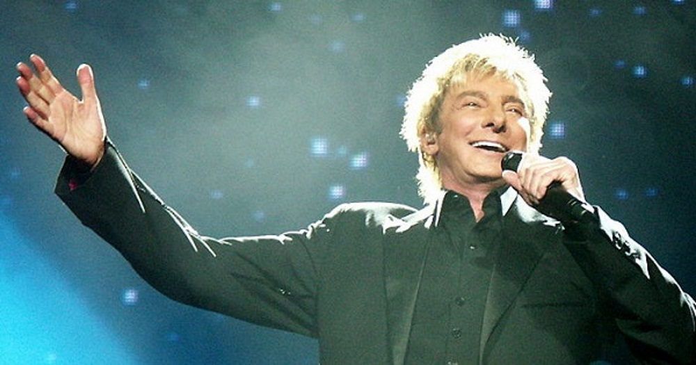 Barry Manilow in concert
