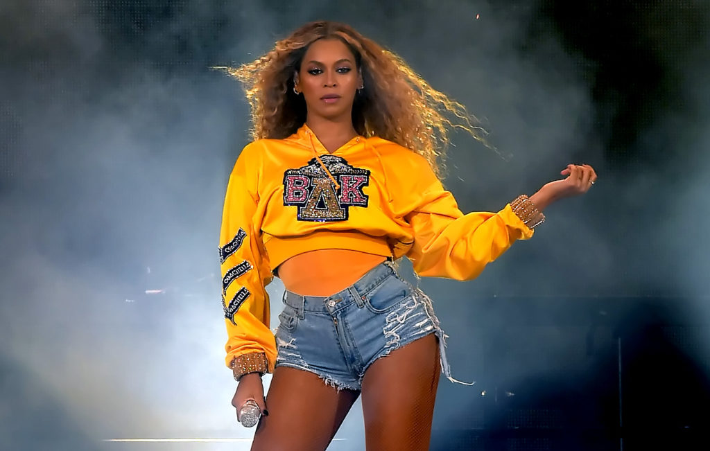 Beyonce, who recently cut ties with Topshop tycoon Philip Green