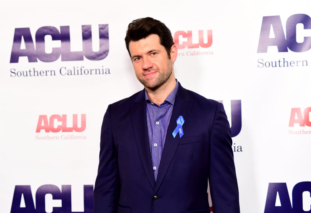 Gay comedian Billy Eichner
