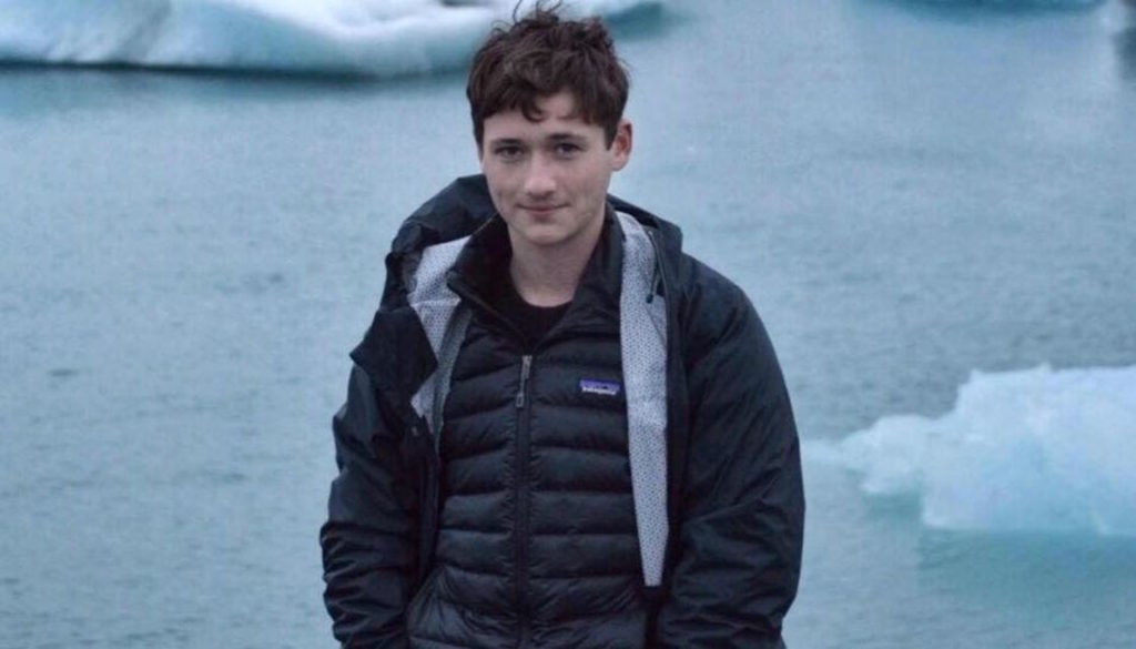Samuel Woodward is accused of murdering Blaze Bernstein