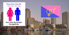 Activists want to hold a Straight Pride parade in Boston