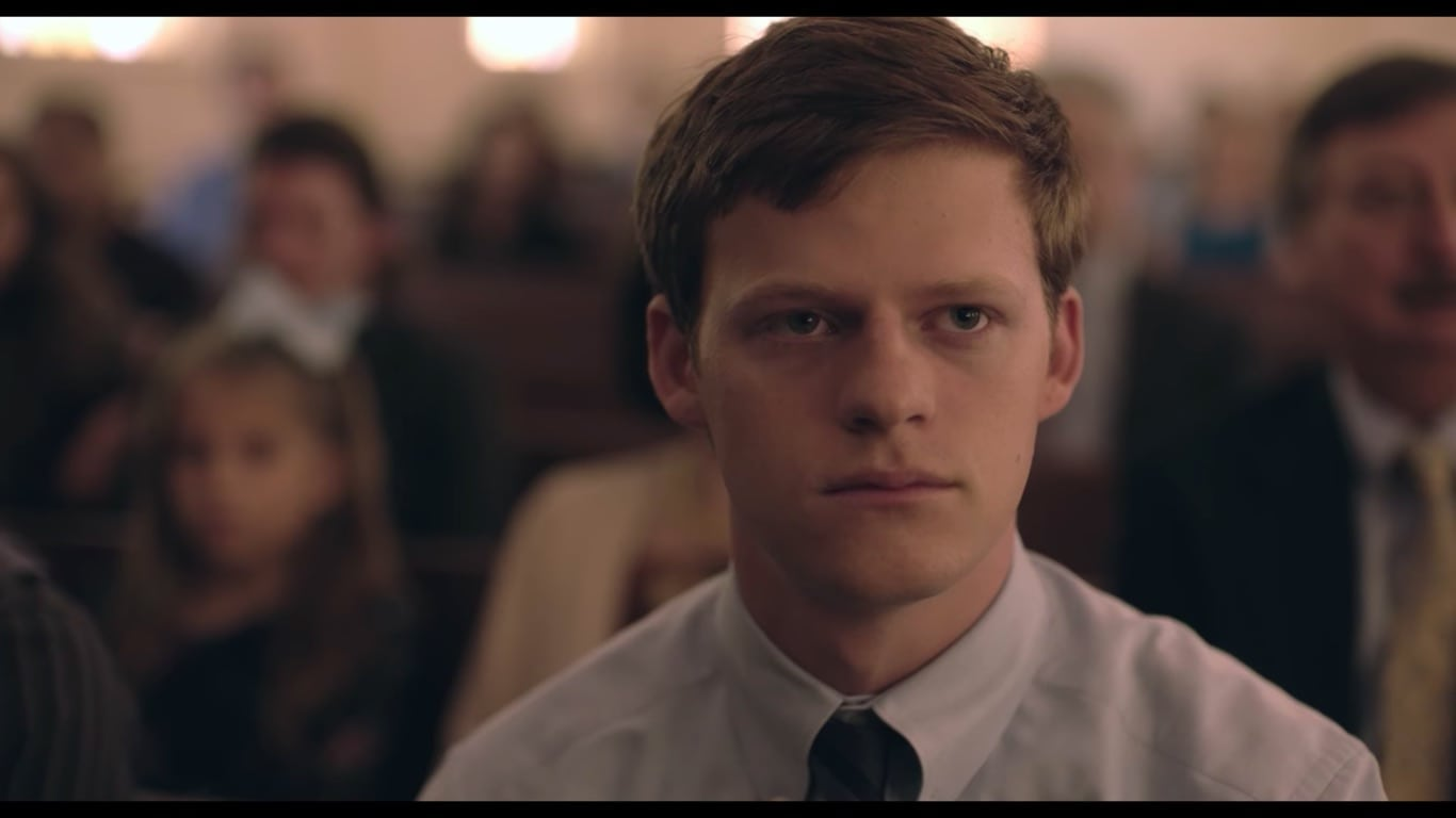 Lucas Hedges as Jared Eamons in Boy Erased