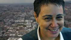 Lesbian activist Marta Alvarez in Colombia (Eve Hartley/PinkNews)
