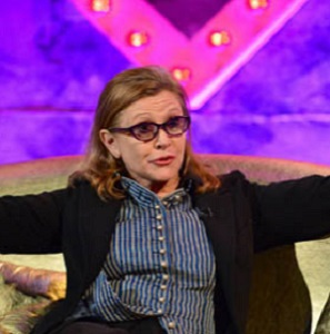 Carrie Fisher (Channel 4)