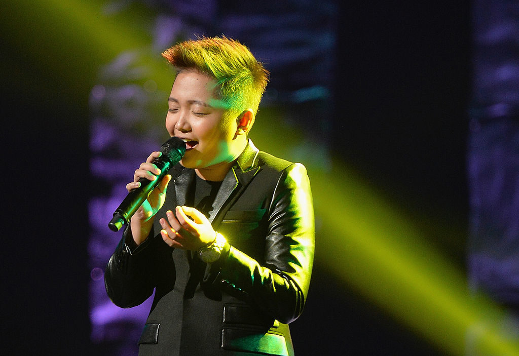Singer and Glee star Charice performs