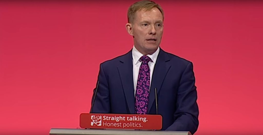 Labour MP Chris Bryant spoke about his experiences