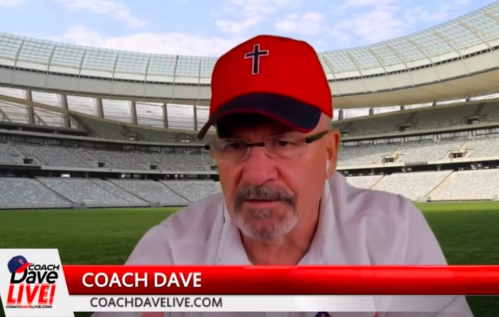 Coach Dave, a trump supporter
