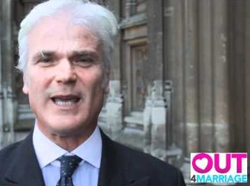 Desmond Swayne backed the Out4Marriage campaign in 2012
