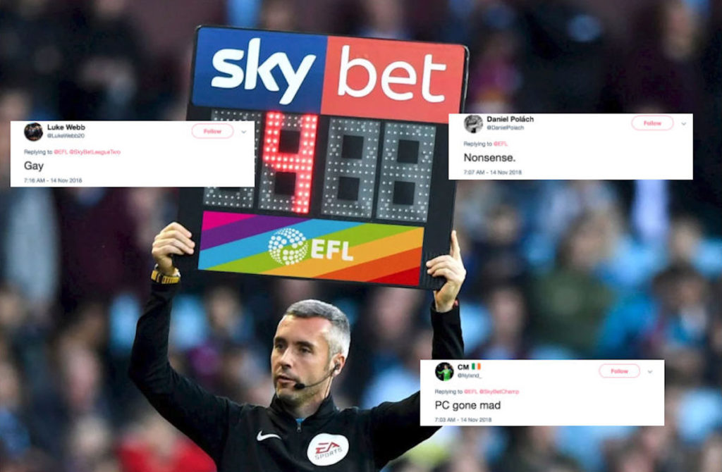 English Football League announces Pride initiatives