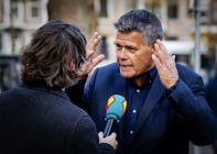 Emile Ratelband, 69, answers journalists' questions on December 3