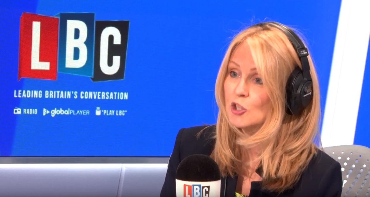 Conservative leadership candidate Esther McVey on LBC