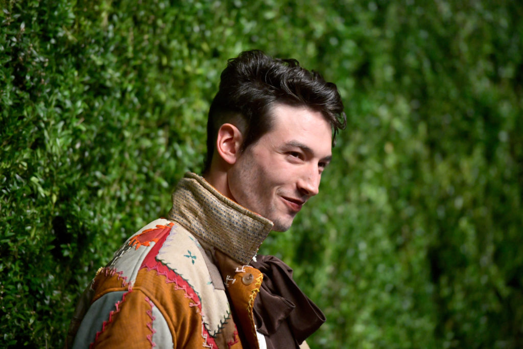 Ezra Miller, who will star in Fantastic Beasts: The Crimes of Grindelwald