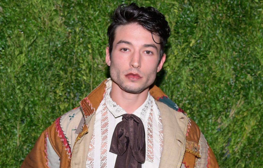 Photo of Fantastic Beasts star Ezra Miller at the CFDA / Vogue Fashion Fund 15th Anniversary Event