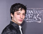 Ezra Miller attends the Fantastic Beasts And Where To Find Them