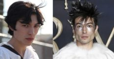 Ezra Miller's transformation from 2010 to 2018