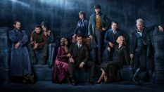 The cast starring in Fantastic Beasts 2.