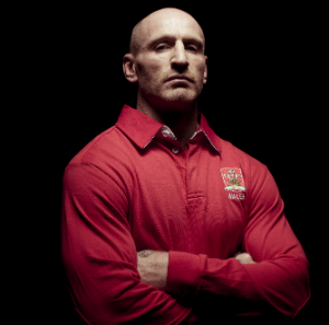 Rugby star Gareth Thomas