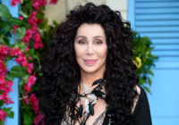 """Cher poses on the red carpet upon arrival for the world premiere of the film """"Mamma Mia! Here We Go Again"""" in London on July 16, 2018. (ANTHONY HARVEY/AFP/Getty)"""